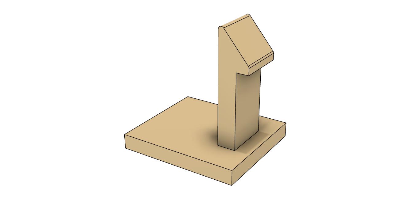 スナップフィットのモデル