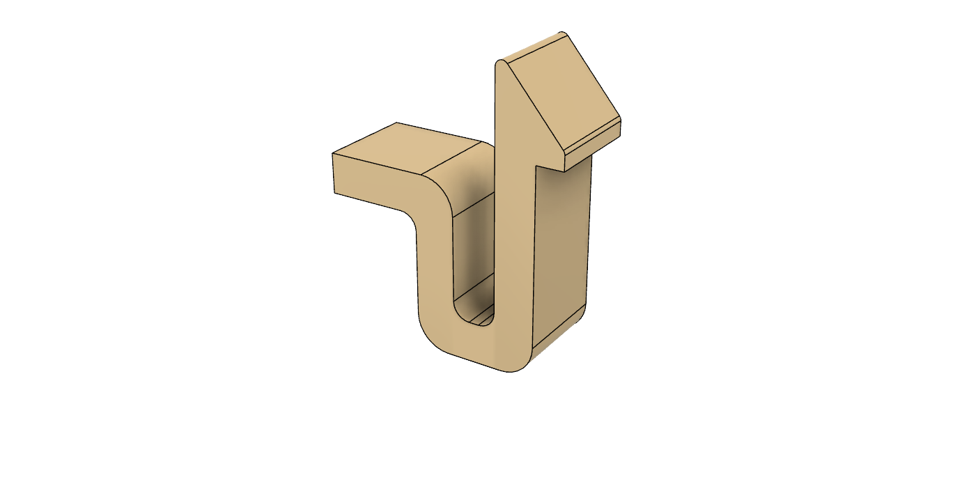 スナップフィット_u字形状